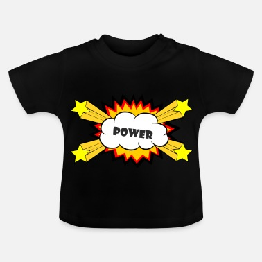 Explosion Vermogen Comic Explosion - Baby T-shirt