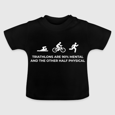 Triatlon mentaal - Baby T-shirt