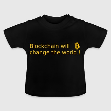 Blockchain Technologie - Baby T-Shirt