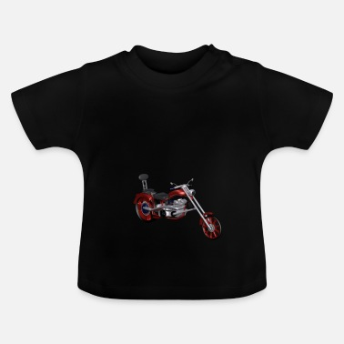 Chopper Motorfiets / Chopper - Baby T-shirt