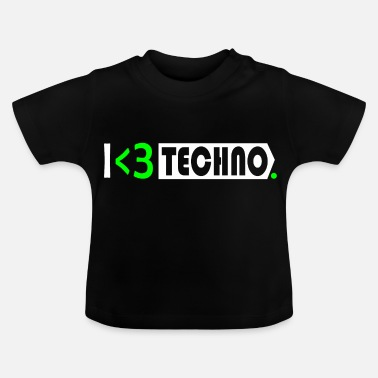 Jumpstyle Techno Rave Electro Festival Gift Raver - Baby-T-shirt