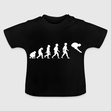 Evolution Tauchen Taucher Wassersport - Baby T-Shirt