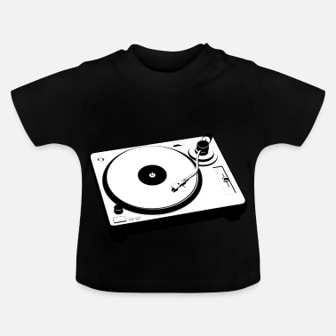 Turntable Turntable Mischpult - Baby T-Shirt