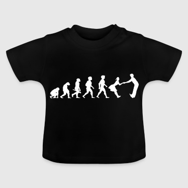Evolution dancing dance couple music dance music - Baby T-Shirt