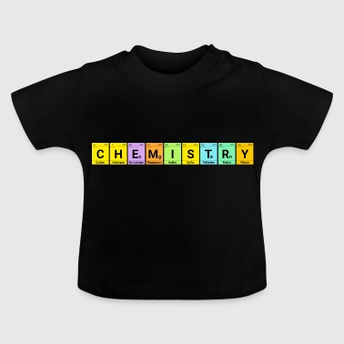 Chemistry Chemie Elemente Periodensystem - Baby T-Shirt