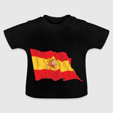 Spanish flag - Baby T-Shirt