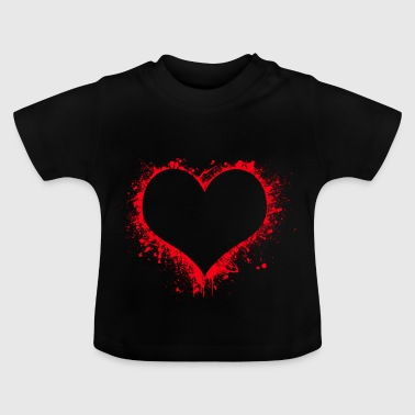 Bloody Heart - Baby T-Shirt