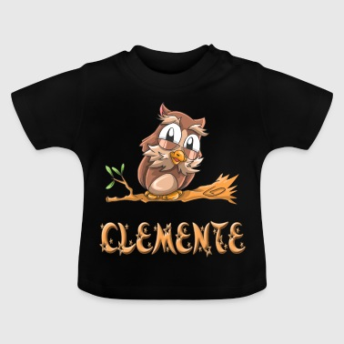Eule Clemente - Baby T-Shirt
