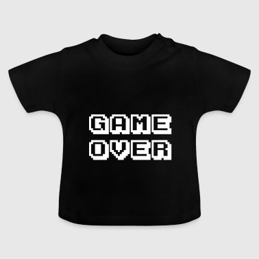 Arcade Game Over weiß - Baby T-Shirt