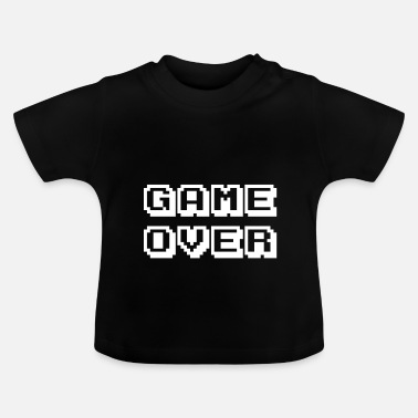Game Over Arcade Game Over weiß - Baby T-Shirt
