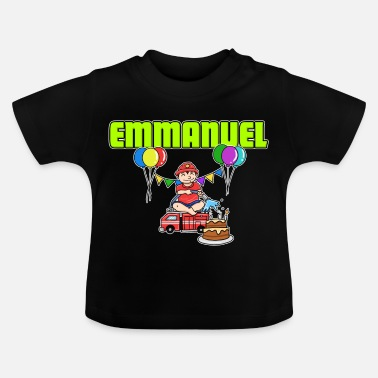 Emmanuel Fire Department Emmanuel Gift - Baby T-Shirt
