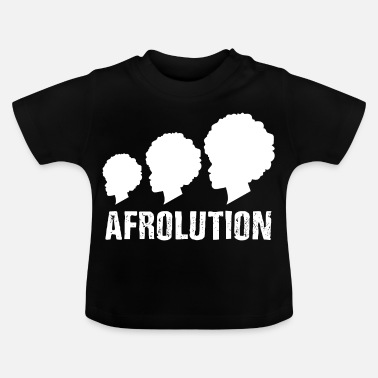 Afro Afrolution African Pride T-shirt - Baby T-shirt