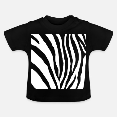 Safari Zebrapatroon - Safari / Wildernis Afrika - Baby T-shirt