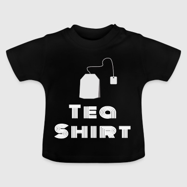 Tea Shirt - White / White - Baby T-Shirt