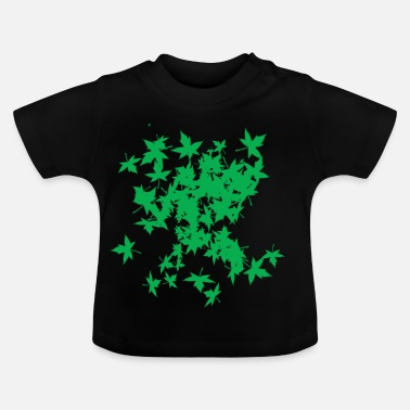 Leaf LEAF TREE GREEN - T-shirt Bébé