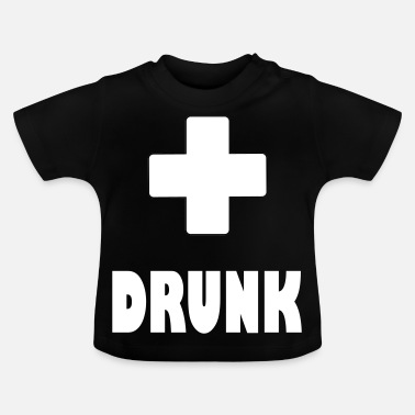Plus berusad plus - Baby-T-shirt