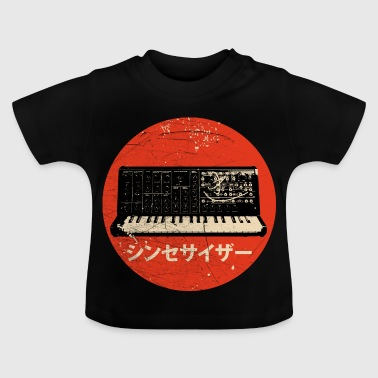 Synthesizer Vintage Japanese Synthesizers - Analog Retro Synth - Baby T-Shirt