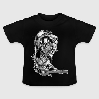 Shop Black Metal Baby Clothing online | Spreadshirt