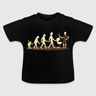 FUN - Evolution Grill Barbecue - Geschenk  - Bestseller - Baby T-Shirt