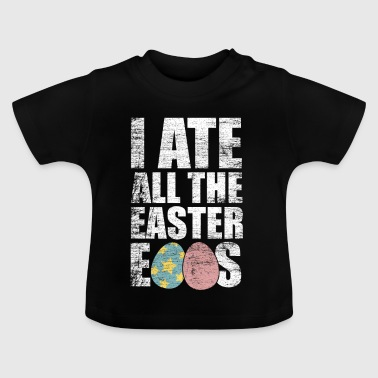 Easter eggs eat gift wolverine hunger crooks - Baby T-Shirt