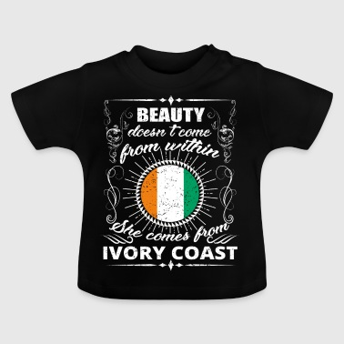 beauty comes from IVORY COAST png - Baby T-Shirt