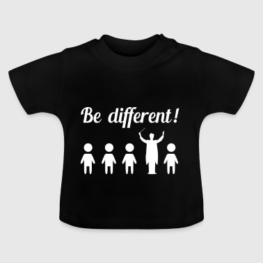 Different funny funny conductor gift - Baby T-Shirt