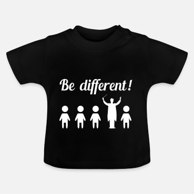 Orchestra Different funny funny conductor gift - Baby T-Shirt