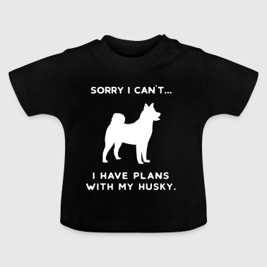 Husky Huskies Dog Dogs Huskie Huskies Gift - Baby T-Shirt