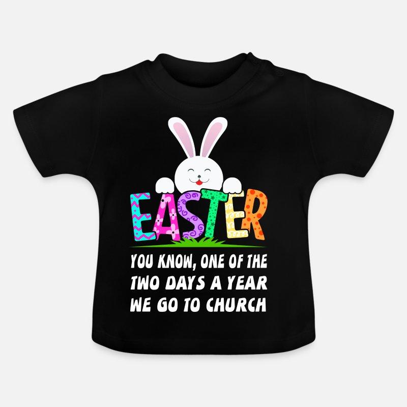 Lustiger Spruch Osterhase Frohe Ostern Geschenk Ha Baby T Shirt