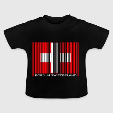 Born in Switzerland Schweiz Nationalmannschaft - Baby T-Shirt