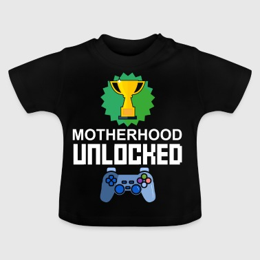 Nivel madre maternal desbloqueado Gamer regalo - Camiseta bebé