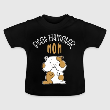 Best Hamster Mom - Mom - Kinderen - Baby T-shirt