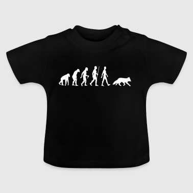 Renard Roux Fox Evolution renard animal cadeau renard roux - T-shirt Bébé