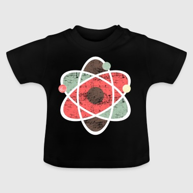 Science atomique de chimie de symbole - T-shirt Bébé
