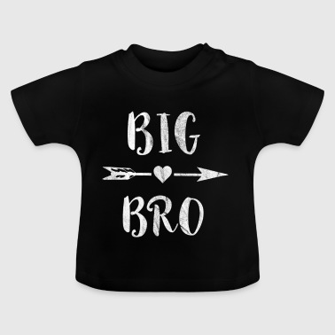 Big Brother-pijl met hart T-shirt - Baby T-shirt
