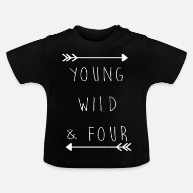 Birthday Child Birthday child four 4 birthday child gift - Baby T-Shirt
