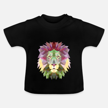 Jungle leeuw Lion Mandala Yogameditatie koning jungle - Baby T-shirt