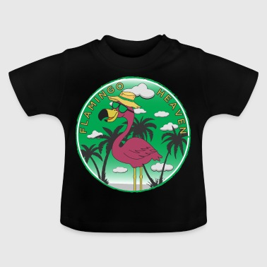 Flamingo Heaven - T-shirt Bébé