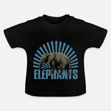 Zoogdier Olifant - zoogdier - Baby T-shirt