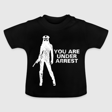 Politie sexy agent cadeau idee - Baby T-shirt