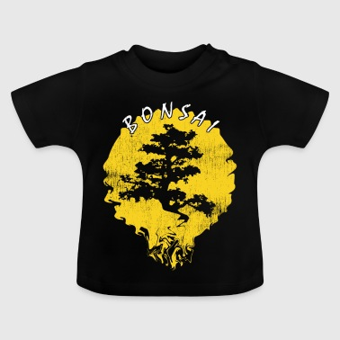 Tuin kunst bonsai boom Japan - Baby T-shirt
