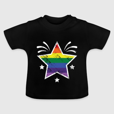 Christopher street day Stern - Baby T-Shirt