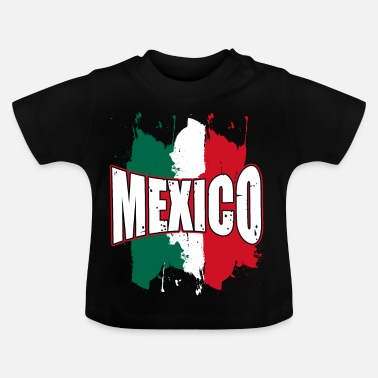 Splatter Mexico splatter - Baby T-Shirt