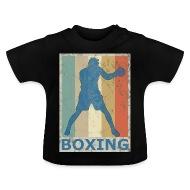 Thaï Rétro style vintage Boxe Boxe Kickboxing , T,shirt Bébé