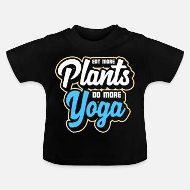 Movement Yoga Sport Movement Plant Hälsosam - Baby-T-shirt