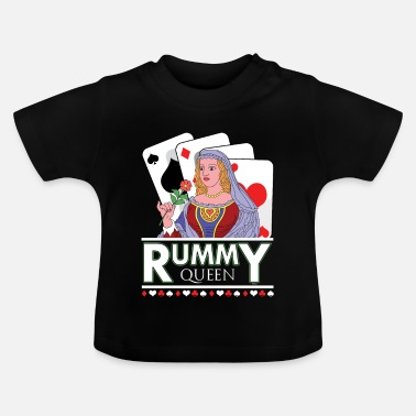 Cards Rummy Queen Card Deck - T-shirt Bébé