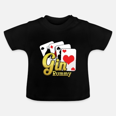 Cards Gin Rummy Card Deck - T-shirt Bébé