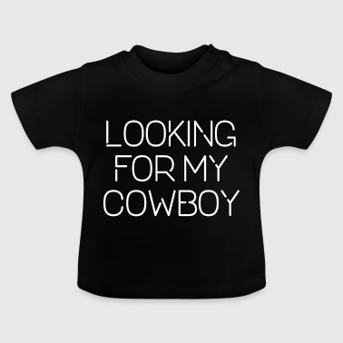COWBOY RANCH SINGLE STATEMENT - Baby T-shirt