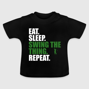 Eat Sleep Sleep Repeat - Maglietta per neonato