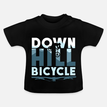 Dirt Bike Downhill Bike Slopestyle Bike Dirt - Baby T-shirt